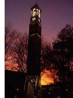 Clock tower @ Purdue University in West Lafayette, IN