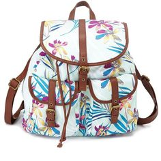 Charlotte Russe Mint Floral Print Canvas Backpack by Charlotte Russe... ($11) ❤ liked on Polyvore featuring bags, backpacks, accessories, mint, canvas knapsack, mint green backpack, floral print canvas backpack, floral rucksack and charlotte russe backpack