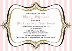 Baby Shower invitation printable french parisian by CupidDesigns, $20.00
