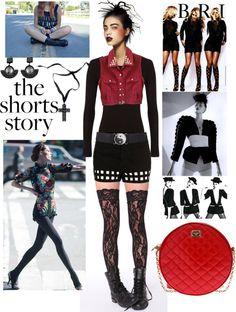 """The shorts story"" by majda-roza ❤ liked on Polyvore"