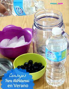 """En el Blog te comparto algunos consejos para hidratarnos en verano.. Ademas puedes ganar un paquete de agua y aprender como ganar premios con #MamasPureLife """"Bebe Mejor Vive MejorTM"""" #Spon"""