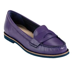 I don't have purple shoes.  I NEED purple shoes!    Cole Haan Sloane EVA Loafer