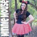 My super sweet #diy #minniemouse costume! I love #halloween