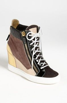 wholesale dealer 6fc5b 1a066 The best wedge sneaker I ve seen. Giuseppe Zanotti Wedge Sneaker available  at