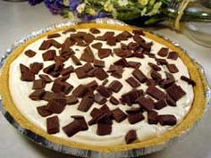 Easy Peanut Butter Pie. I can always use some peanut butter!!