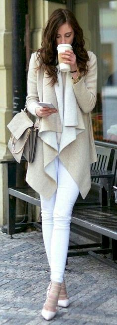 Grey Coat For Crispy Look Brought Out