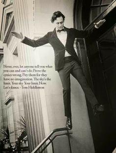 Tim Hiddleston quote