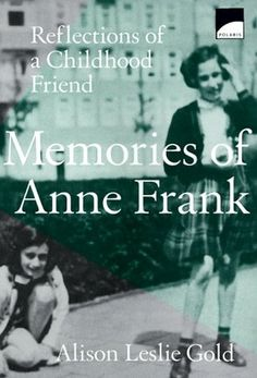 Hannah Goslar lived next door to Anne Frank in Amsterdam. In this touching memoir, as told to Alison Leslie Gold, Hannah recalls the funny, bright girl who suddenly disappeared from her life -- until they met again at a concentration camp.