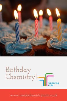 Chemical reactions on your birthday cake! It's Your Birthday, Birthday Cake, Chemical Reactions, Burning Candle, Birthday Candles, Mary, Instagram Posts, Birthday Cakes, Birthday Cookies