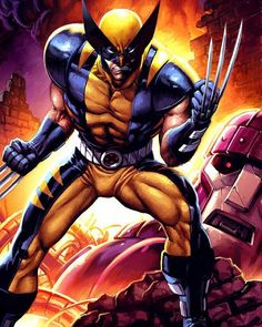Wolverine!! Art by JPRart  #Wolverine #XMen #Marvel #MarvelComics #Comics #ConceptArt #Art #Artist #Superhero by devilzsmile.com #devilzsmile