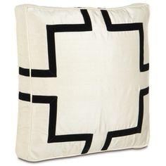 Black Velvet Box Designer Pillow design by Studio 773 $132 Makes a great floor cushion