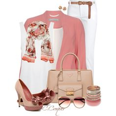 Shades Of Pink by ccroquer on Polyvore featuring Edun, Dorothy Perkins, Emilio Pucci, Prada, Wet Seal, H&M, Roberto Cavalli, Heidi London and Menbur
