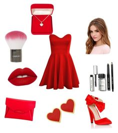 Red ❤️ by hannahgrey1234 on Polyvore featuring polyvore, fashion, style, Lipsy, Givenchy, Alexa Starr, Lulu*s, Bobbi Brown Cosmetics, Topshop, Lime Crime, women's clothing, women's fashion, women, female, woman, misses and juniors
