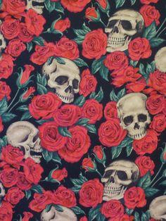 Tela FQ :: red roses :: de nosgustanlosretros por DaWanda.com