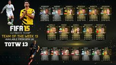 Team of the Week 13 - fifa15-coin.com