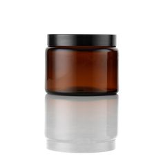 Wide Mouth Jar Amber 500ml