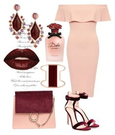 """""""Sexy"""" by djulianne on Polyvore featuring мода, Chloé, Gianvito Rossi, Stephen Webster, Henri Bendel, Smashbox и Dolce&Gabbana"""