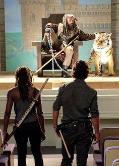 """The Walking Dead, season 7, episode 9, """"Rock In The Road"""""""