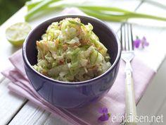 Elins Coleslaw Cole Slaw, Potato Salad, Side Dishes, Cabbage, Potatoes, Vegetarian, Vegetables, Ethnic Recipes, Food