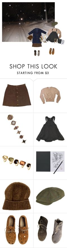 """""""auld lang syne"""" by planets-n-stars ❤ liked on Polyvore featuring American Apparel, Loewe, Forever 21, H&M, malo and Anniel"""