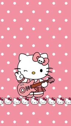 Pink hello kitty, hello kitty pictures, hello kitty items, sanrio h Hello Kitty My Melody, Hello Kitty Art, Hello Kitty Pictures, Kitty Images, Hello Kitty Wallpaper, Sanrio Wallpaper, Cat Treats, Diy Phone Case, Girl Gifs
