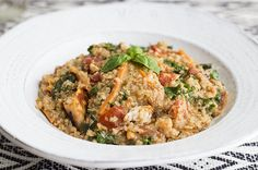 Healthy Chicken Quinoa Power Bowl