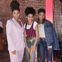 Black Girl Magic, Black Girls, Black Women, Chloe Halle, Grown Ish, Black Ish, Straight Weave, Sibling, Black Is Beautiful