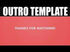 free outro template rain style sony vegas pro 11 12 13 Блог