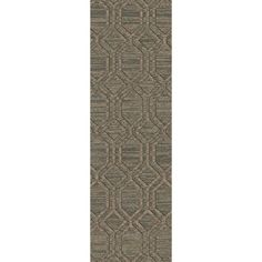 Hand-Knotted Abstract Pattern Jute Rug (2'6 x 8') (Burgundy-(2'6 x 8')), Red, Size 2' x 8'