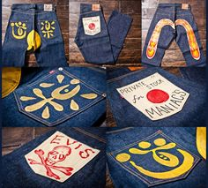 Hong Kong denim collector and Take 5 owner Benny Seki opens up his personal Evisu vaults to share these hand-painted jeans.