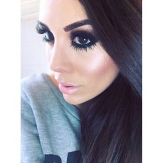 Make up is perfect Flawless Makeup, Gorgeous Makeup, Love Makeup, Full Makeup, Fresh Makeup, Black Makeup, All Things Beauty, Beauty Make Up, Hair Beauty