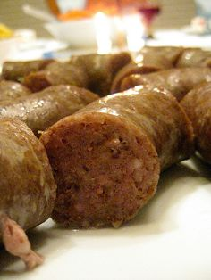 Swedish potato sausage - it's Korv at our house... we make it for Christmas Eve dinner.