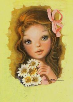 Cano Retro Christmas, Christmas Images, Retro Kids, Holly Hobbie, Illustrations, Big Eyes, Vintage Postcards, Retro Vintage, Aurora Sleeping Beauty