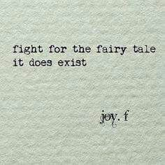JT....the fairy tale does exist! Besos mi amor. Remember I love you!