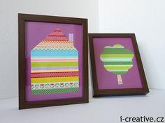 Obrázky z Washi pásek Washi, Frame, Home Decor, Picture Frame, Decoration Home, Room Decor, Frames, Home Interior Design, Home Decoration