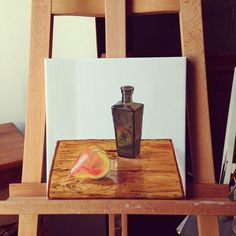 Still live, study - oil on canvas, Oil On Canvas, Study, Paintings, Live, Studio, Paint, Painted Canvas, Painting Art, Draw