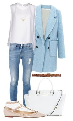 """""""Sunny Winter Day"""" by chrissymusicfashion ❤ liked on Polyvore featuring STELLA McCARTNEY, Gucci, MICHAEL Michael Kors and Valentino"""