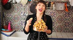 My inspiration, Rachel Khoo, she cooks extraordinary feast with simple ingredients and her flat-standard stove