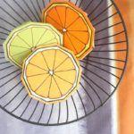 Fruit Coloring Pages & A Citrus Slice Paper Craft
