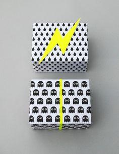 Creative: Eleven Ways To Wrap Things  (Print your own gift wrap with Printable wrap via Mini-eco)