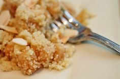 Sweet apple couscous, this sounds very interesting???
