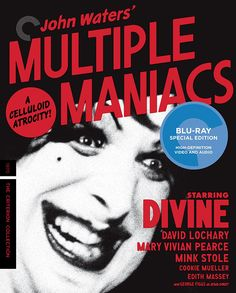 Multiple Maniacs - Blu-Ray (Criterion Region A) Release Date: March 21, 2017 (Amazon U.S.)
