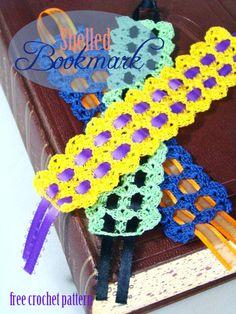 Shell Bookmark « The Yarn Box