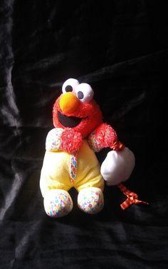 Sesame Street Plush Doll Toy Baby Elmo #GUND #sesamestreet #elmo