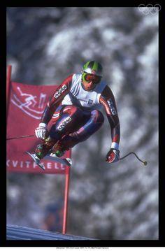 Lasse Kjus, brave, smart and classy.