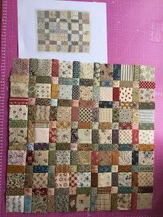 Ik bewaar op mijn laptop al jaren foto's van quilts die ik op het www tegenkom. Sommige quilts zitten zo op je netvlies, die willen er niet ...