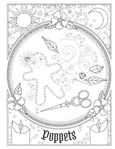 Have you always known you were magic? The Coloring Book of