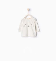 Image 1 of Cat face top from Zara
