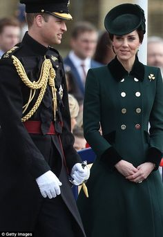 The Duke and Duchess of Cambridge are honouring soldiers  in London before travelling to France for a  Brexit charm offensive