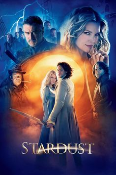 """Stardust"" -- A young man has to find a fallen star in a magical land that borders his town. Stars Claire Danes and narrated by Ian McKellan. Also featured are Michelle Pfeiffer, Robert De Niro and Charlie Cox. Claire Danes, Streaming Movies, Hd Movies, Movies Online, Movies And Tv Shows, Hd Streaming, Watch Movies, Movies Free, Tv Watch"